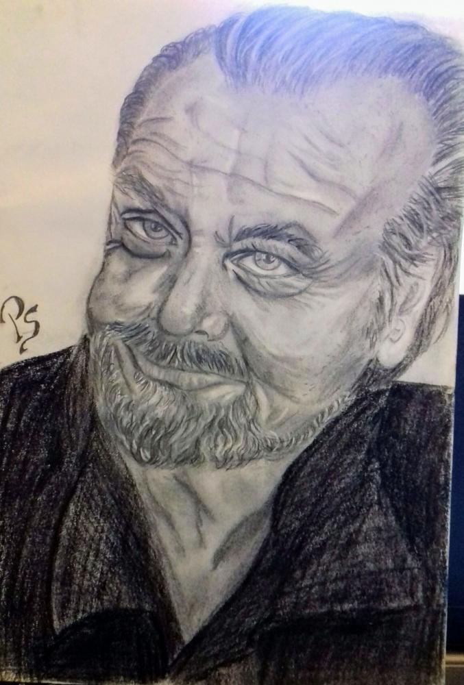 Jack Nicholson por PenStilos
